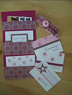 Card & Stamp Gift-folio open
