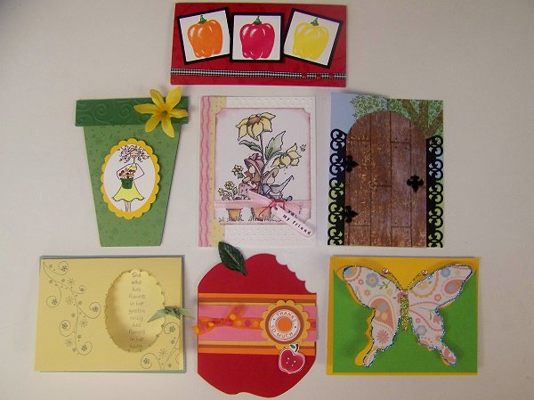 June Card Club Swap 1