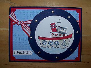 July Club friend ship card