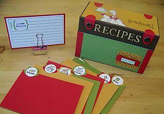 Recipe box Dream swap