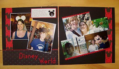 J & D's honeymoon pages