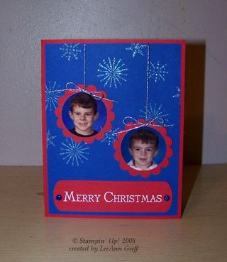 Christmas photo card 1