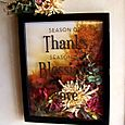 Seasons of Thanks frame