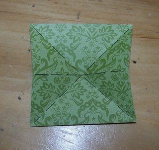 Origami xmas tree 1