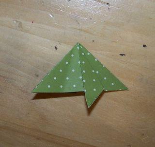 Origami xmas tree 3
