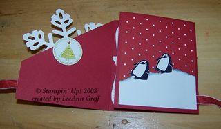 Big shot snowflake card 2