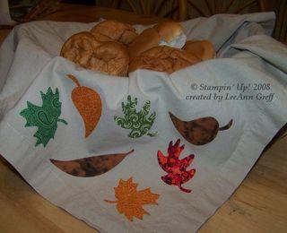Big shot leaves napkin