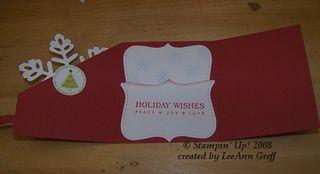 Big shot snowflake card 3