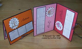 December club calendar cards