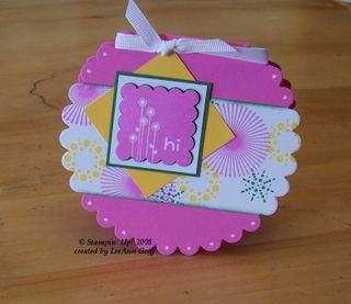 Dec scallop color combo card