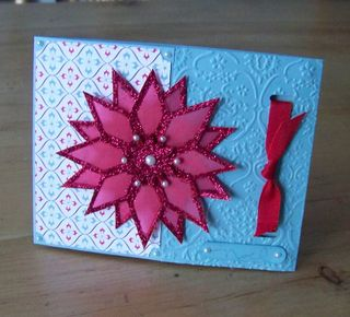 Sharon S starburst xmas card