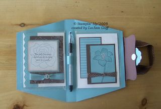 Baha & Choc card purse open