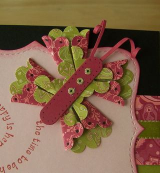 Scalloped punch butterfly 3