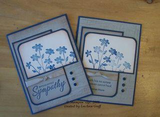 Jan 09 club sympathy cards