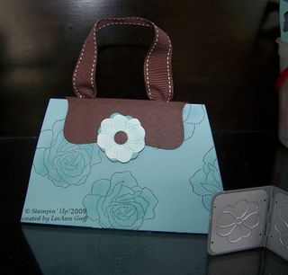 Baha & Chocolate card purse
