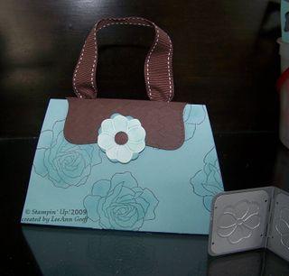 Baha & Chocolate card purse