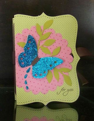Big Shot top note butterfly box