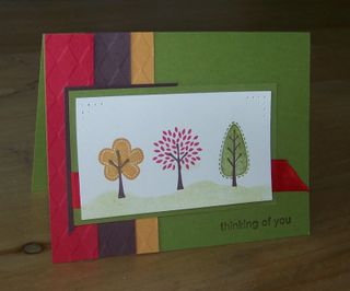 Trendy Trees WS card