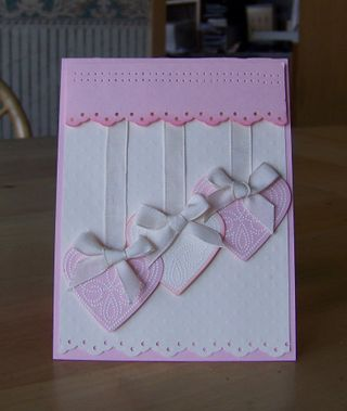Polka dot punches pink & vanilla