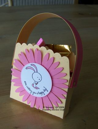 Big Shot bunny basket
