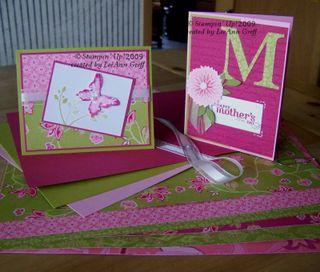 Raspberry Tart bundle cards