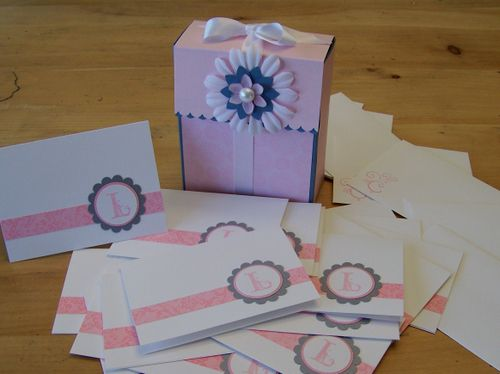 Flip box & cards