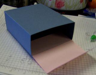 Flip box lid