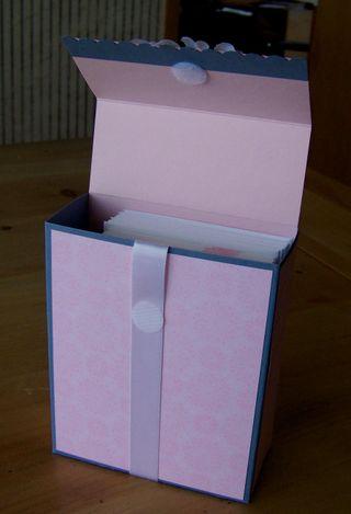 Flip box lid up