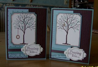 May 09 tree club cards