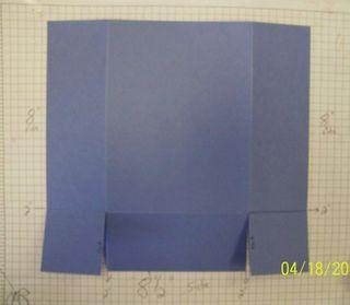 Flip box cutting guide