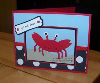 Punch art crab