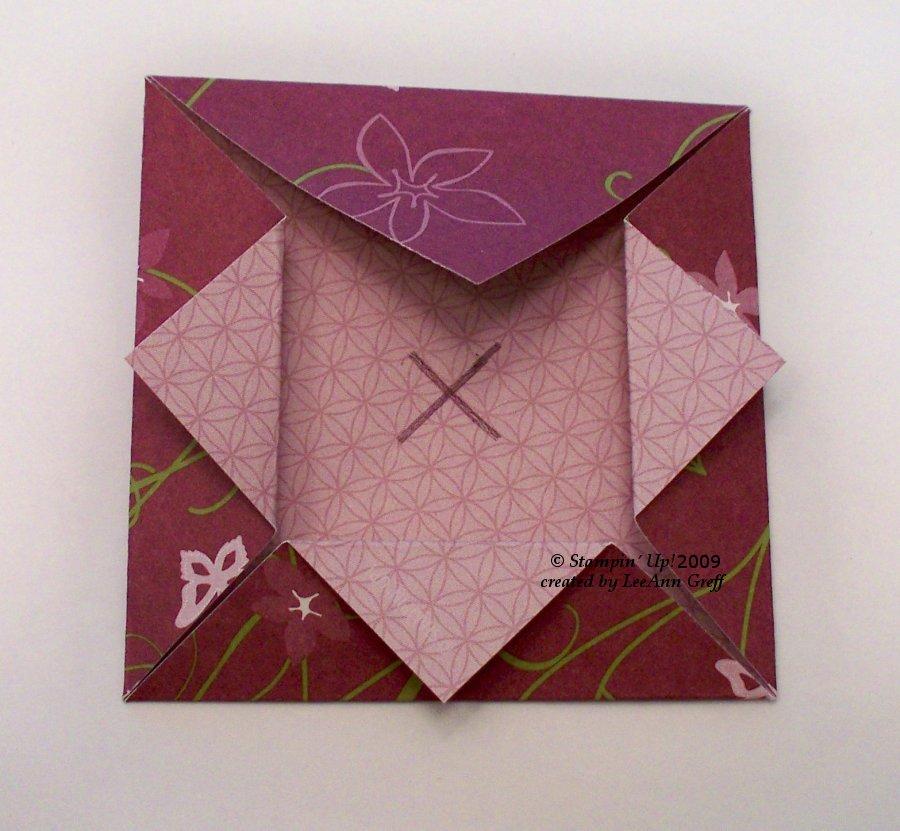 Origami Shadow Box Tutorial