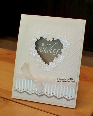 Blog Hop wedding card
