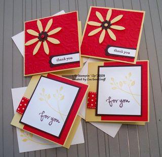 Envelope pocket 4 cards