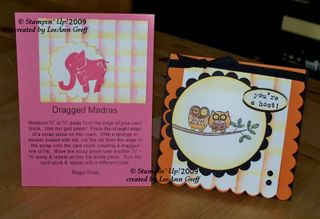August tech class dragged madras cards
