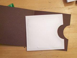 Envelope pocket card holder 5