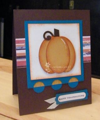 Oct 09 club pumpkin card