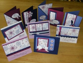 Snowflake cards 10