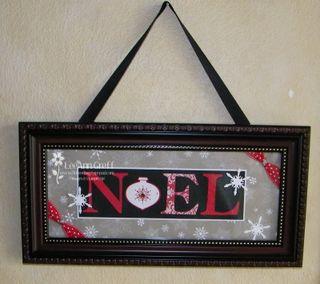 Name frame Noel