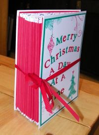 Envelope advent book side