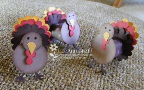 Nugget turkeys