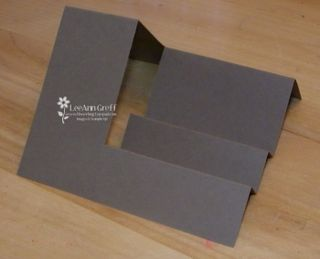 Sidestep card fold