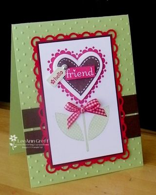 Sweetheart friend celery scallop frame