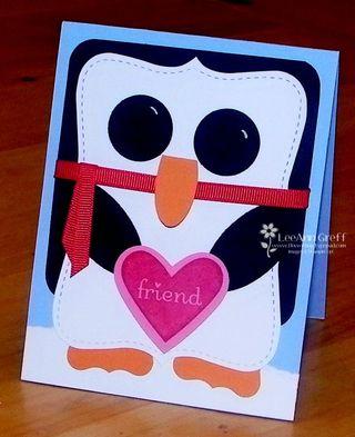 Big Shot penguin card