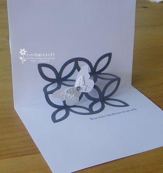 Kathys gray & white inside card