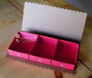 Triple Match box open