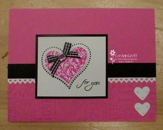 Occ pink black heart