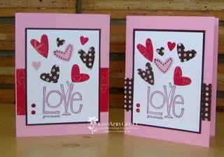 Valentine workshop card