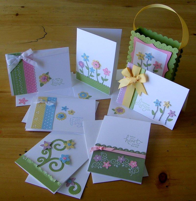 Eggcellent Eggs cards & basket