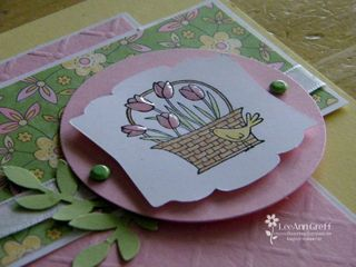 March 10 Easter card close up